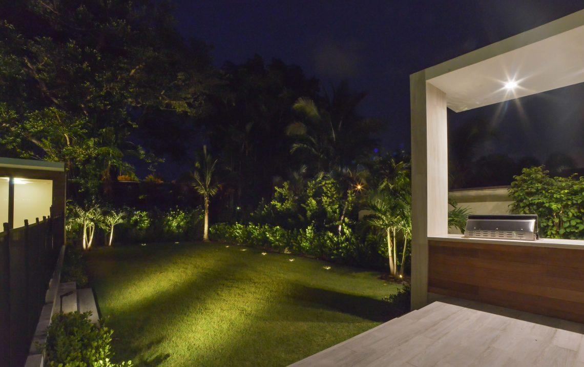 Walkway Lighting Design Outdoor Fence Lighting